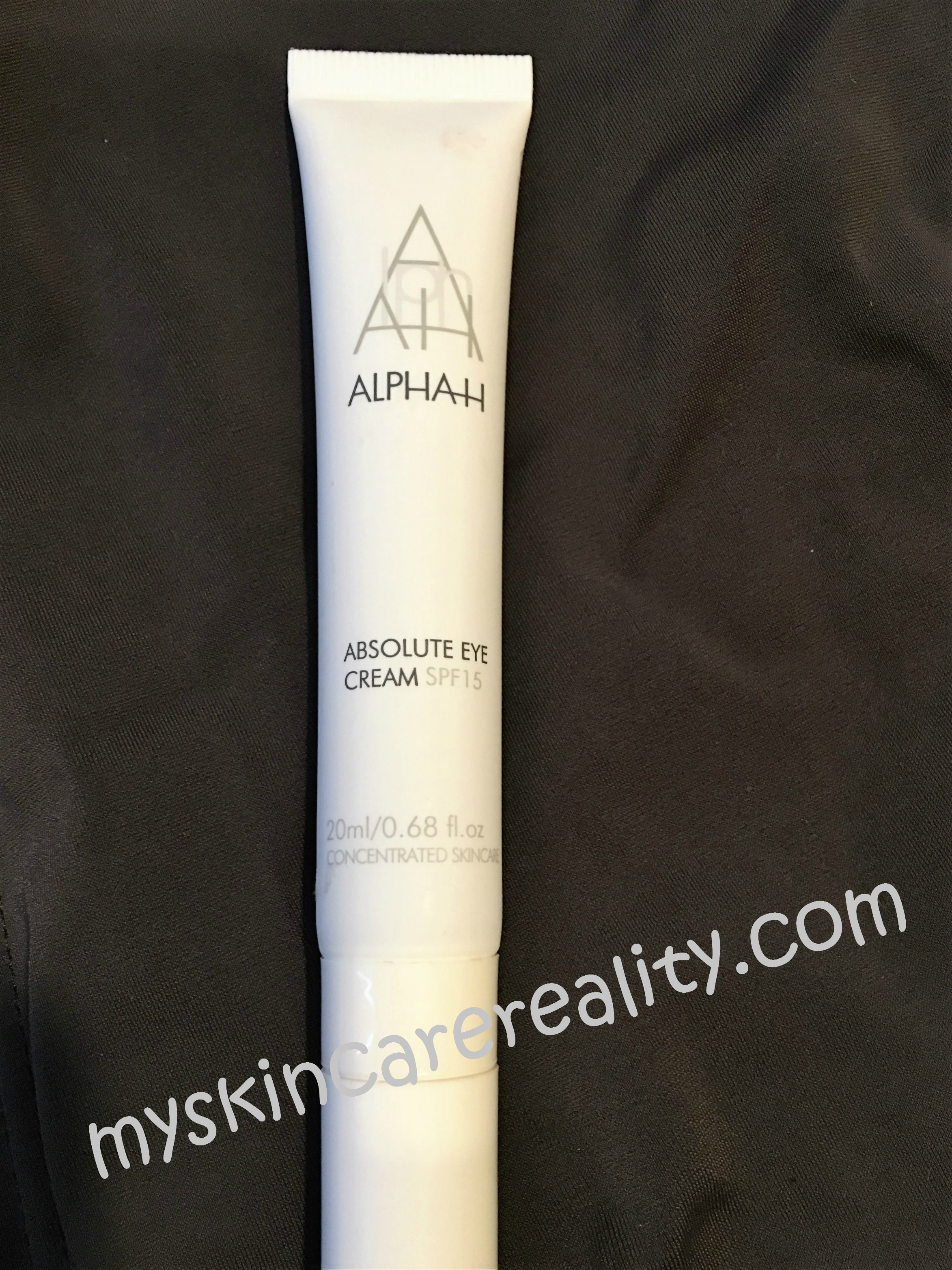 Alpha H Absolute Eye Cream SPF 15 | Skincare Review | My Skincare Reality