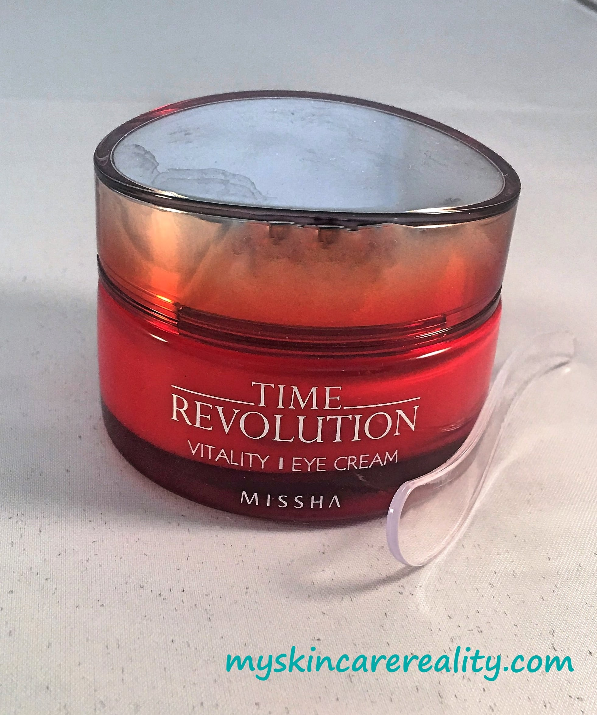 Missha Time Revolution Eye Cream |Skincare Review | My Skincare Reality