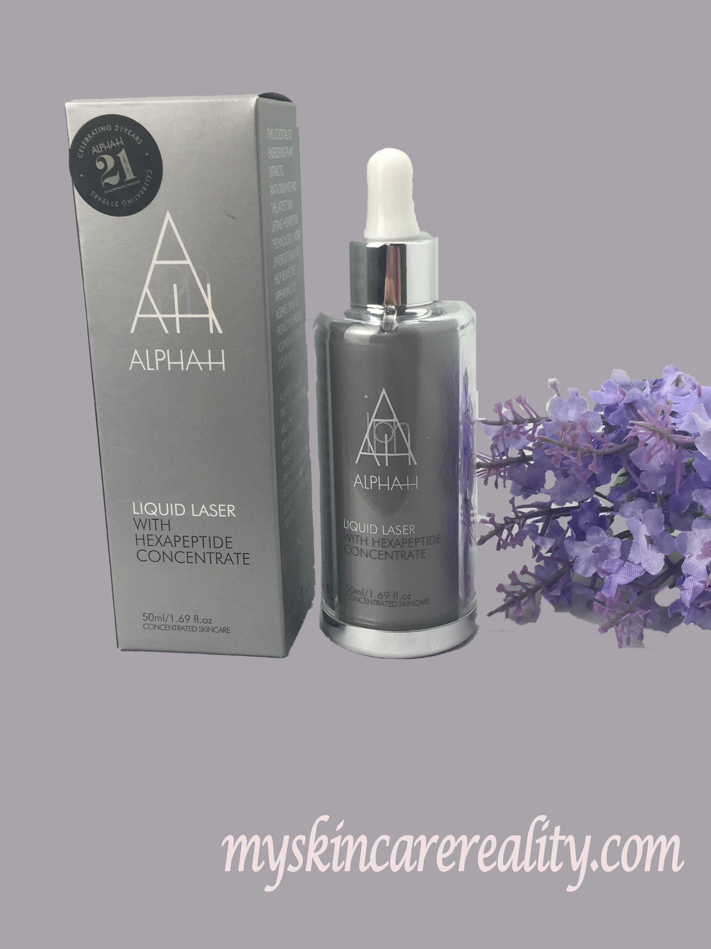 Alpha-H Liquid Laser with Hexapeptide Concentrate | Skincare Review | My Skincare Reality