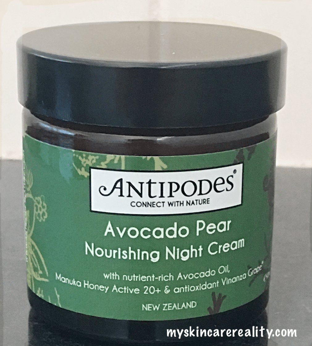 Antipodes | Avocado Pear Nourishing Night Cream | Skincare Review | My Skincare Reality