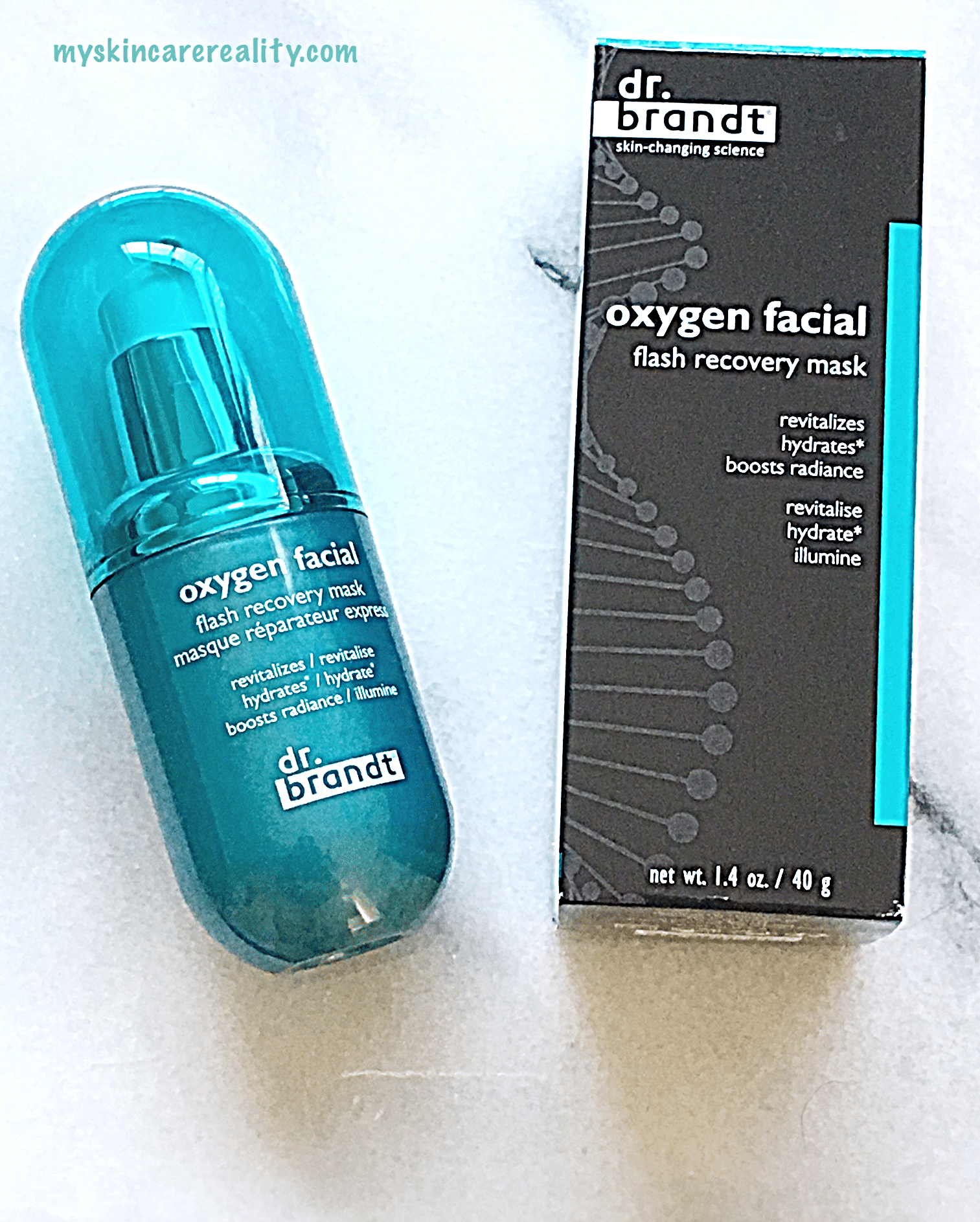 Dr Brandt | Oxygen Facial Flash Recovery Mask | Review | My Skincare Reality
